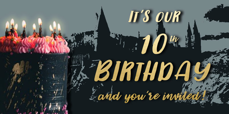 Potter's Army turns 10!