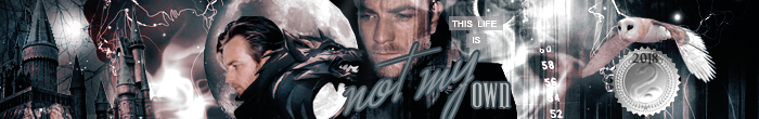 Not my Own Banner with Remus Lupin and MFWHAT Award